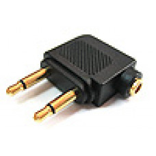 轉接頭 雙3.5單音頭-3.5立體座 P/D1352