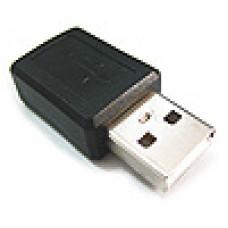 電腦轉接頭 USB轉接頭 A公轉迷你5PIN母 UB-199