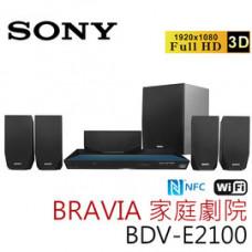 【 大林電子 】 SONY 3D 藍光家庭劇院 BDV-E2100