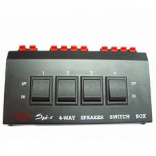 SB04 喇叭切換器(AR-34) 一切4  4-WAY 4紐
