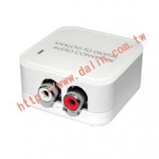 【大林電子】DCT-4 類比轉數位光纖音源轉換器