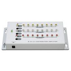 PX大通 1入8出分配器 AV-108