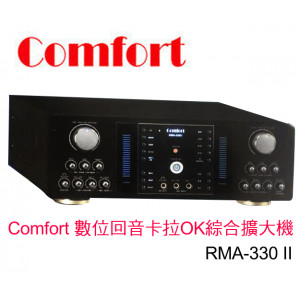 【 大林電子 】 ★ 熱賣中 ★ Comfort  數位回音卡拉OK綜合擴大機 RMA-330 II
