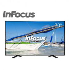 【 大林電子 】InFocus 超視堺 70吋4K智慧連網 液晶電視 液晶顯示器 FT-70CA601