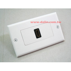 面板型 壁座 HDMI HEW-101A-US