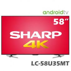 SHARP 夏普 58吋 4K高畫質液晶電視 LC-58U35MT 《 歡迎來電洽詢 有更優惠價格 》