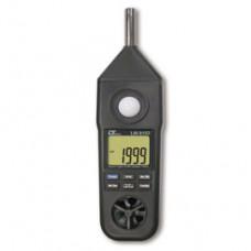 Lutron 路昌 五合一 風速計 / 照度計 / 溫濕度計 / 溫度計 / 噪音計 LM-8102