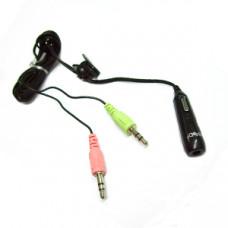 MIC007 耳機轉耳機MIC轉接線