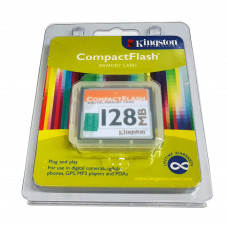 【 大林電子 】 ★ 特賣品 ★ Kingston 金士頓 CompactFlash Memory Card CF卡 128MB