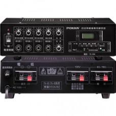 【 大林電子 】 POKKA佰佳牌 PA 數位公共廣播綜合擴音器 PA-60W/DPL 有USB、SD插槽