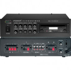 【 大林電子 】 POKKA佰佳牌 數位公共廣播綜合擴大機 PA-80W/CD3SU 最大輸出功率 80W 有吸入式光碟