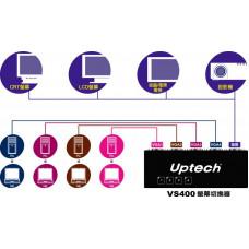 【 大林電子 】 UPMOST 登昌恆 VS400 螢幕切換器